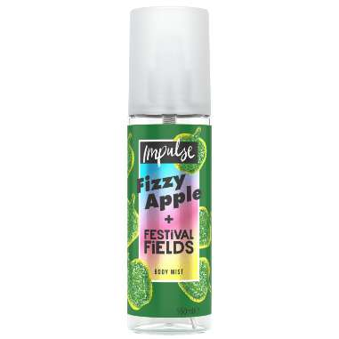 Impulse Fizzy Apple + Festival Fields Body Mist 150ml